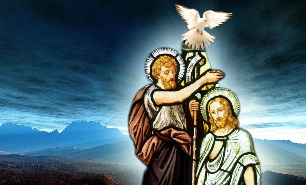 Image result for hinh Chúa Giêsu chịu phép rửa